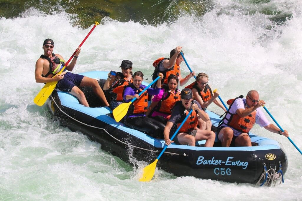 summer activities in jackson hole - rafting